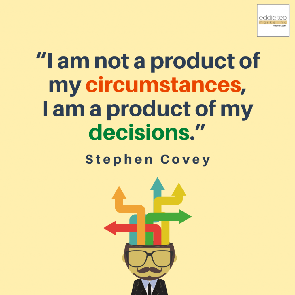 Not a Product of Circumstances, but a product of decisions