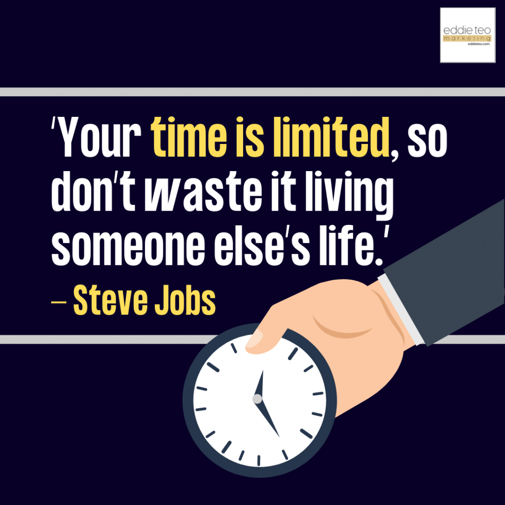 Dont Waste Your Life Living Another Person's.